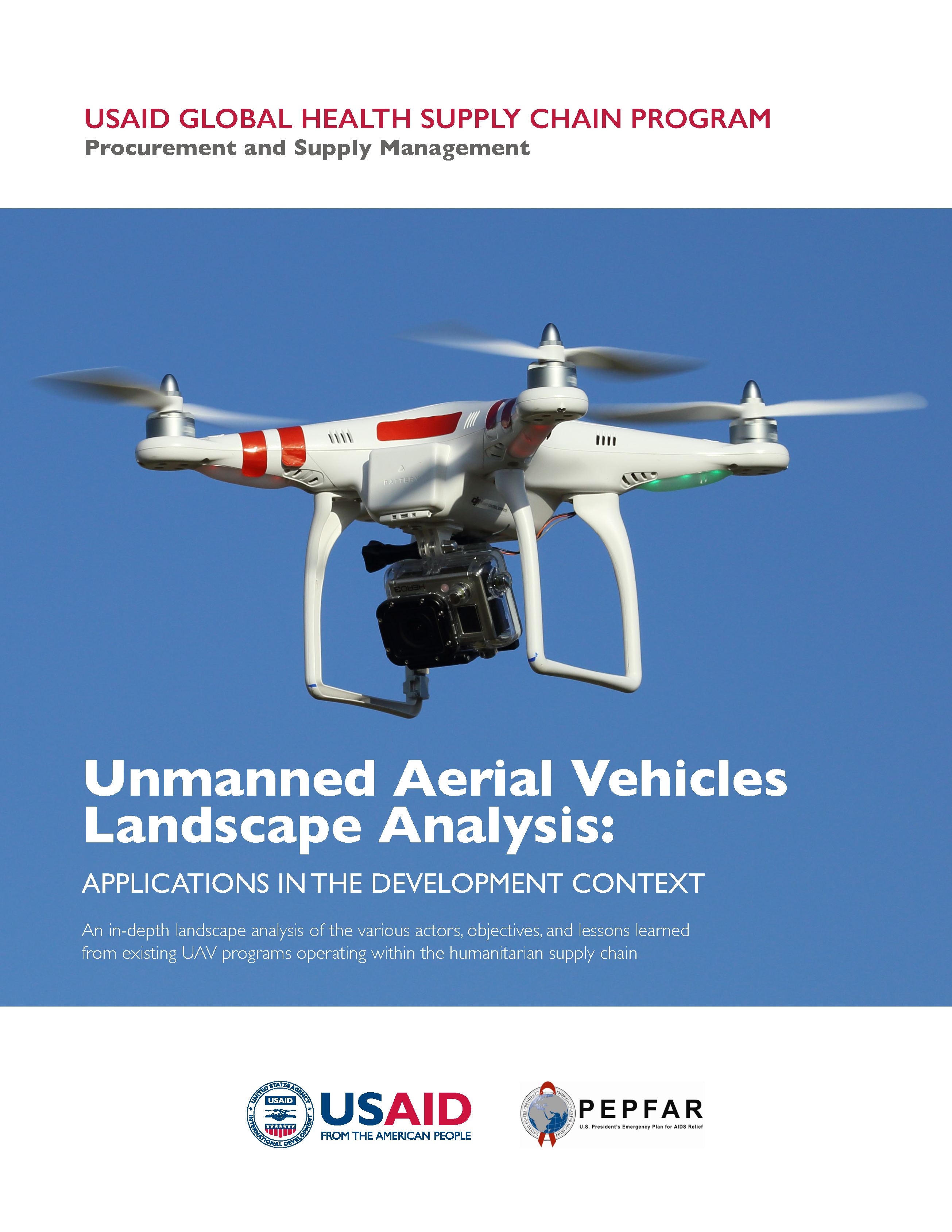 Cover for UAV Analysis report