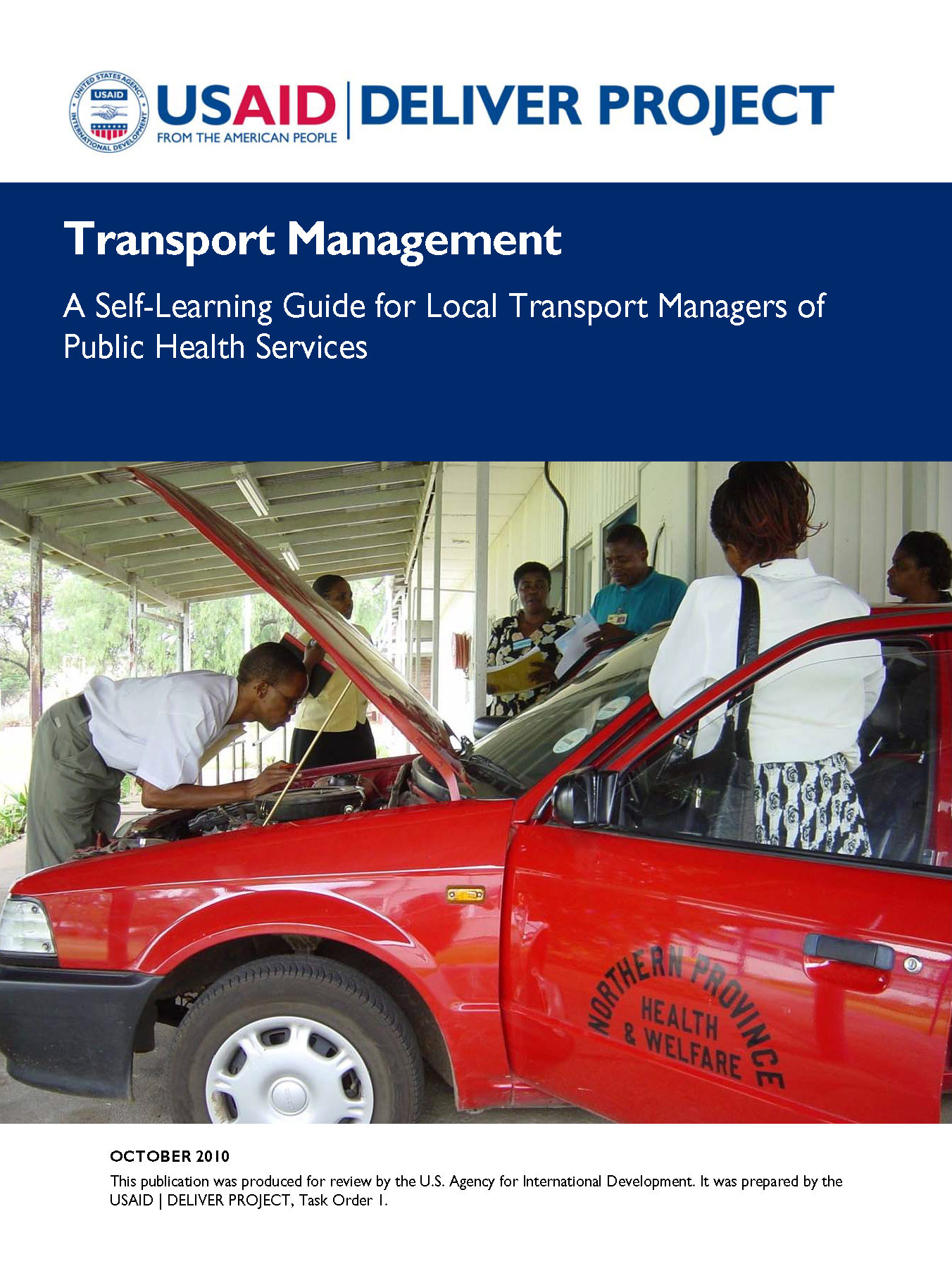 Cover for Transport Management