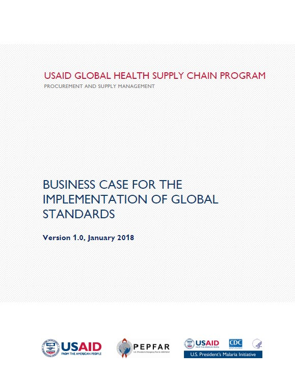 Business Case for the Implementation of Global Standards Cover