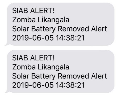 Image of a example of text message alerts