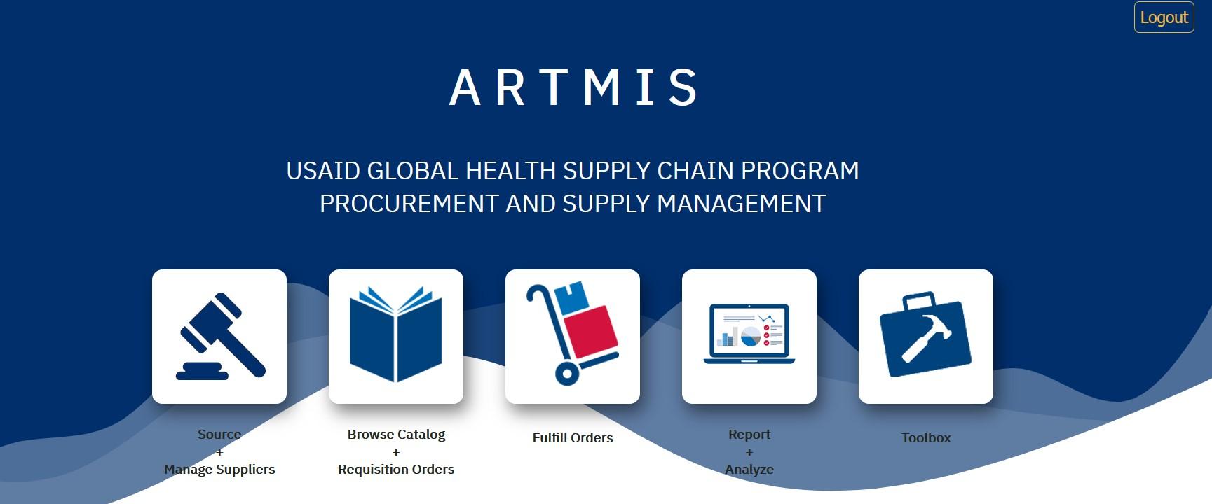 ARTMIS Homepage Image