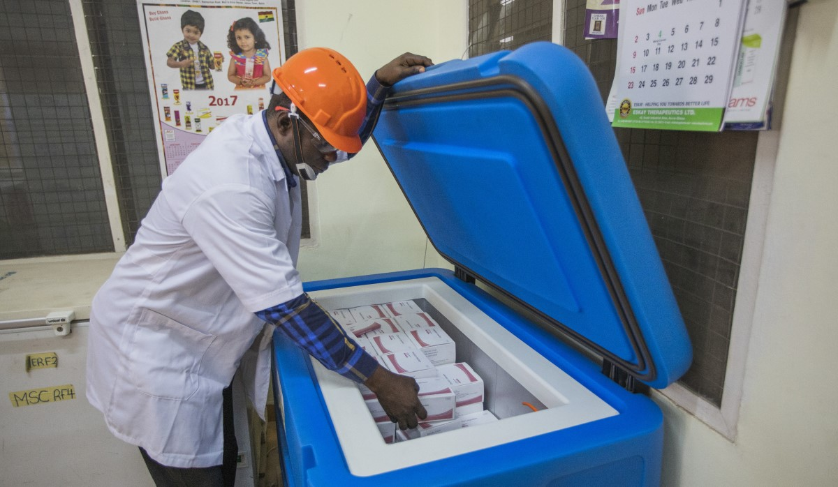 Cold Chain Testing in Ghana