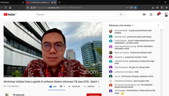 Indonesia Remote Training Video Still